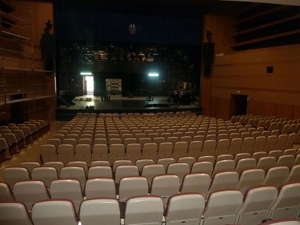 Sala Auditorio, butacas