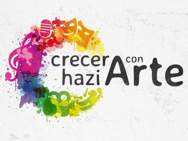 Crecer Con Arte. Logotipo