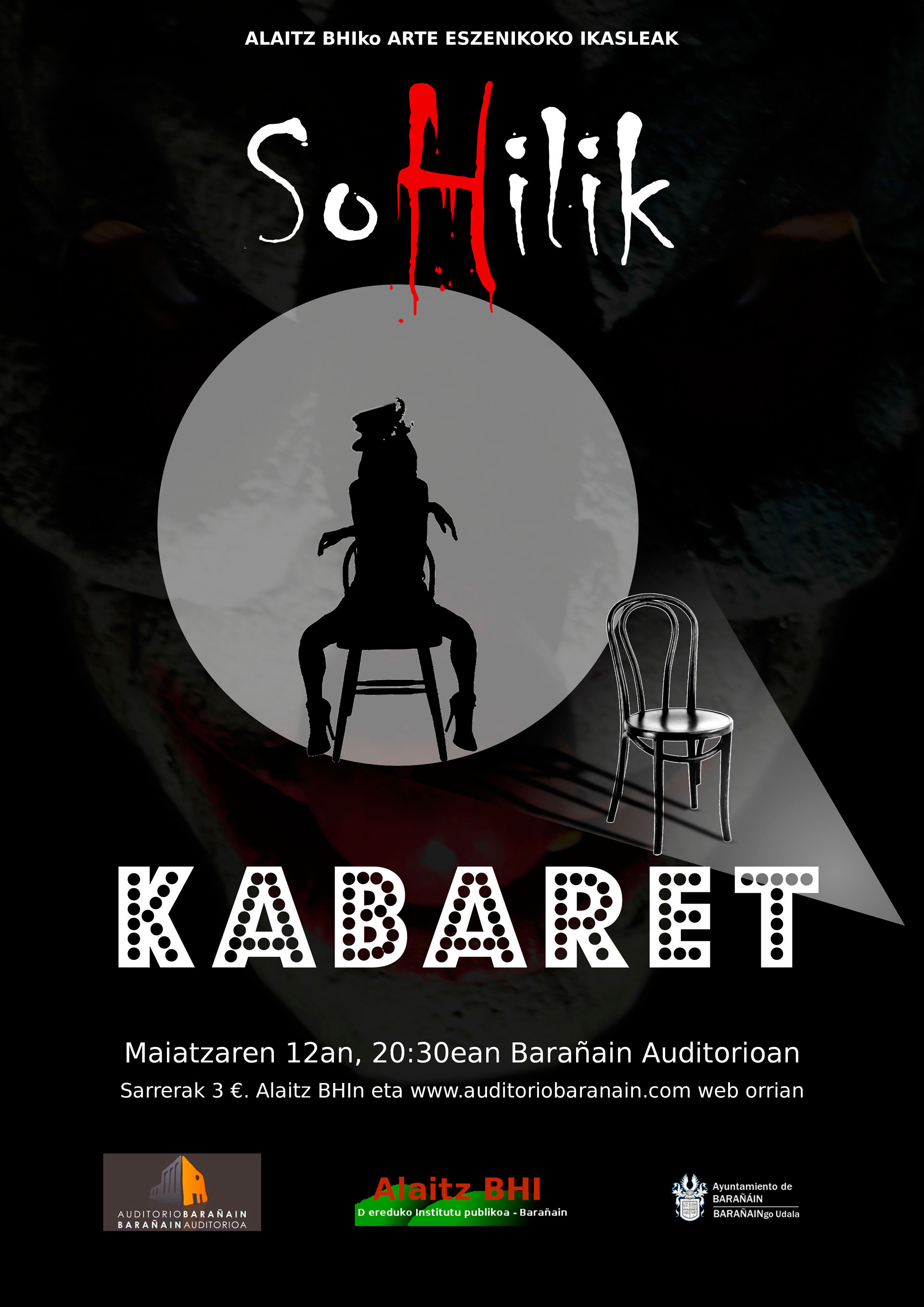 SoHilik Kabaret cartel